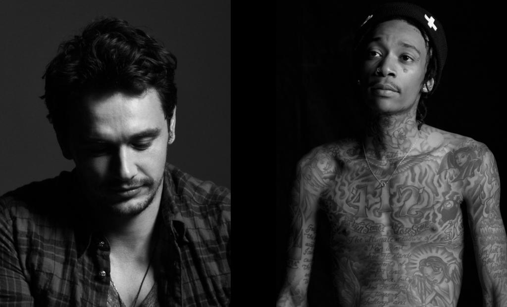 Já fotografou celebridades como James Franco e Wiz Khalifa