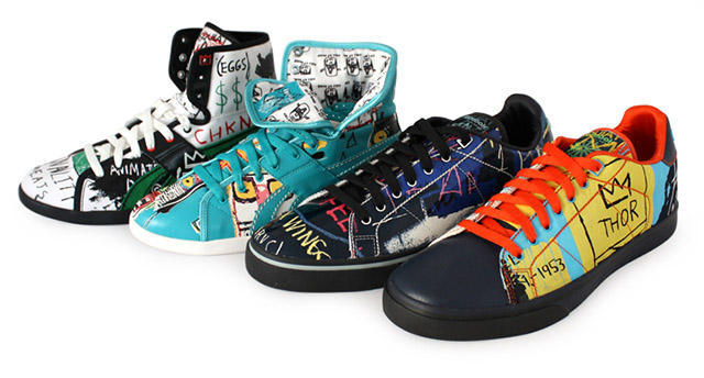 Coleção da Reebok inspirada em Basquiat