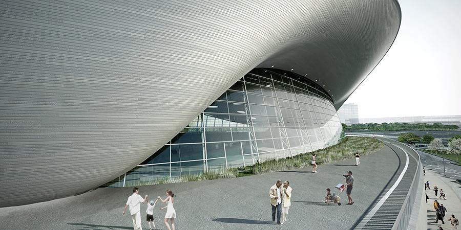 Centro Aquático de Londres - para as Olimpíadas de 2012.